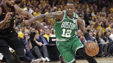 Boston Celtics' Terry Rozier.