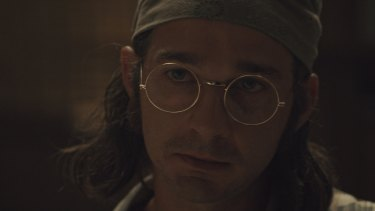 Shia LaBeouf stars as his father in the autobiographical Honey Boy.
