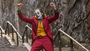 Joaquin Phoenix in Joker: the character seemed an unlikely match for the actor.