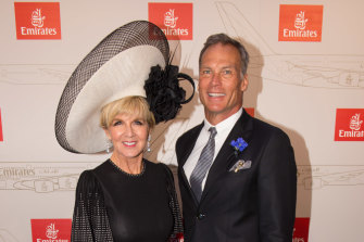 Lovebirds Julie Bishop and David Panton, separated by the Nullarbor and COVID-19.