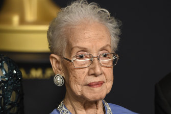 Katherine Johnson, pictured in 2017.