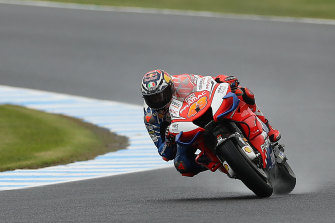 Jack Miller during practice on Friday at Phillip Island.