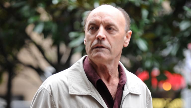 Drago Reskov at the Downing Centre court in Sydney in 2011.