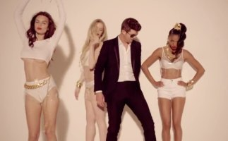 Robin Thicke's song Blurred Lines made headlines for various reasons when it was released in 2013.