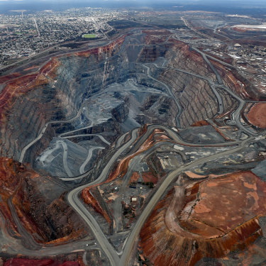 The Super Pit gold mine in Kalgoorlie is jointly run by Saracen and Northern Star.