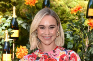 Pick of the bunch ... actress Becca Tobin in the popular Rebecca Vallance print.