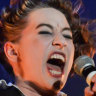 Clinging on for the wild, four-hour ride with Amanda Palmer