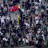 Anti-lockdown rally turns violent as protesters clash with police