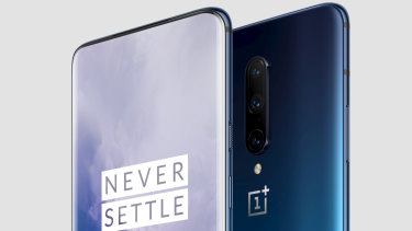 The OnePlus 7 Pro has a trully bezel-free display with no notches or cutouts.
