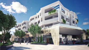 Brisbane City Council approved Aveo's proposed development at Newmarket in December 2017.