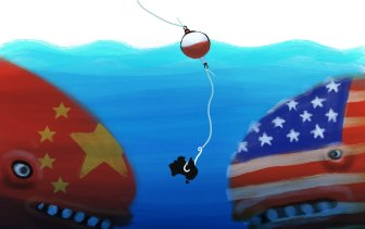 Security trumps prosperity in international politics.