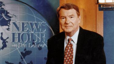 Legendary newsman Jim Lehrer died on January 23.