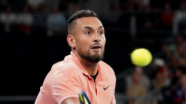 Kyrgios got through relatively easily.