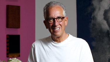 Contemporary art benefactor Simon Mordant.