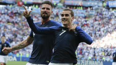 """(Godin) is a great friend, I always hang out with him off the pitch"": Antoine Griezmann."