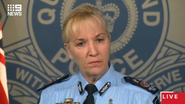 Police Commissioner Katarina Carroll.