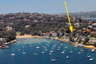 13, 13a and 15 and 15a [behind] Coolong Road, Vaucluse. The owners banded together to sell to them to Leon Kamenev for $80 million.
