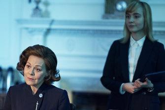 Helen McCrory as Prime Minister Dawn Ellison.