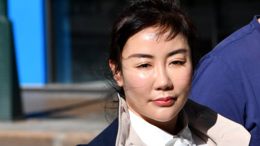 """Mr Pisasale had a """"genuine"""" belief Yutian Li (pictured) was rightfully owed money, the court heard."""