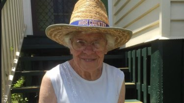 Mansfield's Dulcie Richards believes the LNP's Ian Walker has done enough to keep his seat.