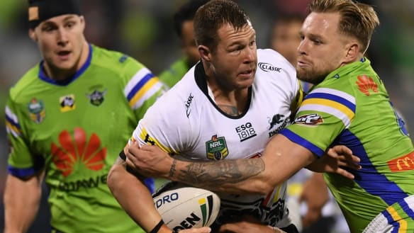 Trent Merrin sought after for Super League marquee contract