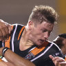 Tigers await COVID results for rising star Grant