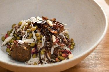 Lazeezan lamb dish features on the Enter Via Laundry tasting menu.