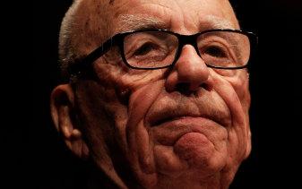 Rupert Murdoch lends a helping hand.