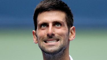 Novak Djokovic puts a family analogy to unexpected use.
