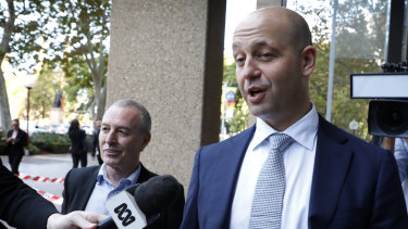 Hot seat: Todd Greenberg was questioned for six hours.