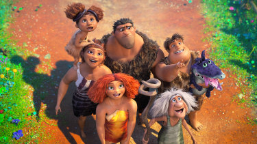Out on Boxing Day: The Croods: A New Age.