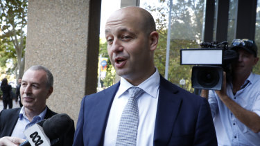 Hot seat: Todd Greenberg's job will come under scrutiny if Peter V'landys takes over as chairman of the Australian Rugby League Commission.