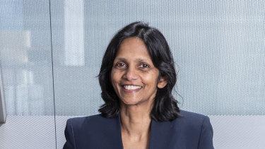 Recently appointed Macquarie Bank CEO Shemara Wikramanayake.