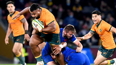 The French series will put the destructive Taniela Tupou in the shop window.