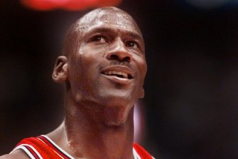 Bulls legend Michael Jordan.