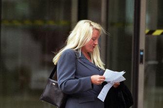 Nicola Gobbo, when she was still a familiar sight around the Melbourne courts precinct.