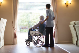 Aged-care workers have struggled in an industry beset by problems.