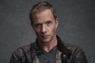 Rupert Penry-Jones plays a 'disaster capitalist' in dystopian drama The Commons.