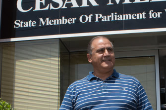 Upper house MP Cesar Melhem, one of three members who drafted the Labor submission.