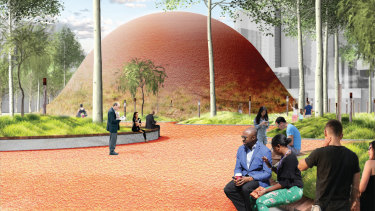 Future Park entries aim to address Melbourne's rapidly increasing population and a perceived lack of planning.