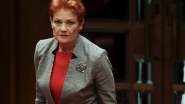 """Pauline Hanson wants a """"strong character"""" to succeed her, perhaps even Mark Latham"""