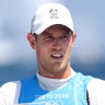 Wearn turned his back on AFL, now he's on the cusp of sailing gold