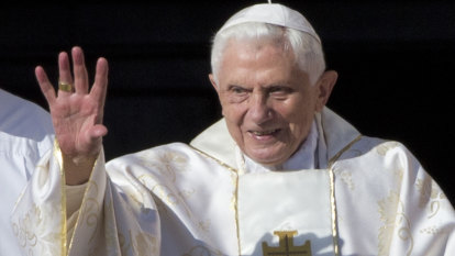Ex-pope says sexual revolution led to abuse crisis, drawing ire