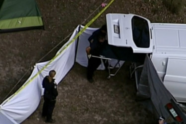 Easter long weekend celebrations have taken a tragic turn at a popular Queensland music festival, with two people found dead inside their tent.