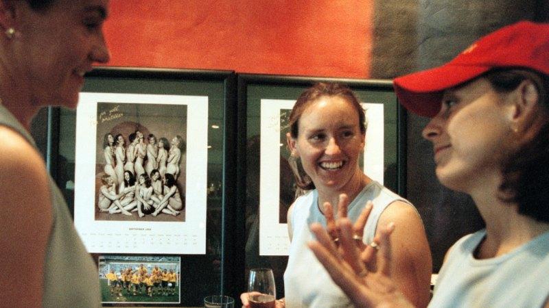 Katrina Boyd of the Matildas - Australias womens soccer
