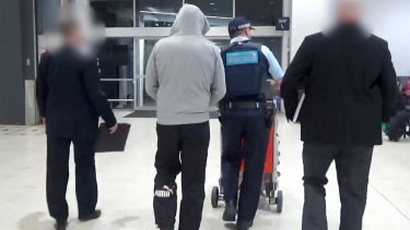 David Campbell was arrested at Sydney Airport on Tuesday over the cocaine importation ring.