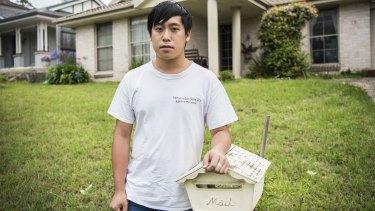Bertin Huynh lost his job in the pandemic.