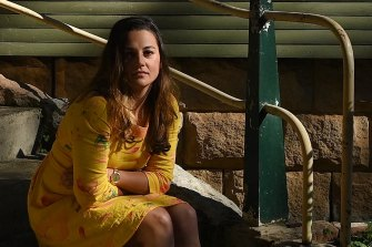 Teacher Steph Lentz, who was sacked by her Christian school after she told it she was gay.