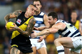 Martin brilliance helps Tigers claw way into lead after Cats dominate first half