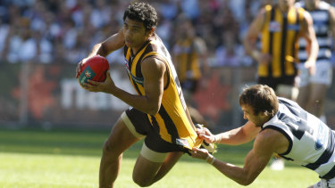 A teenage Rioli lights up the 2008 grand final.